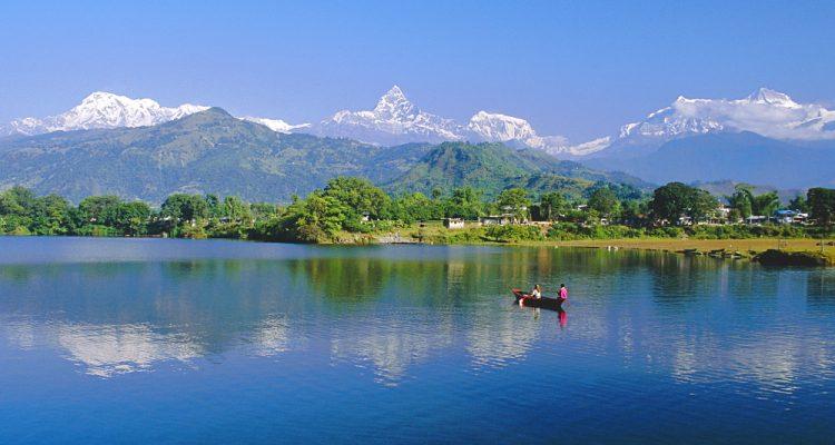 Phewatal Lake, Annapurna Region, Pokhara, Nepal