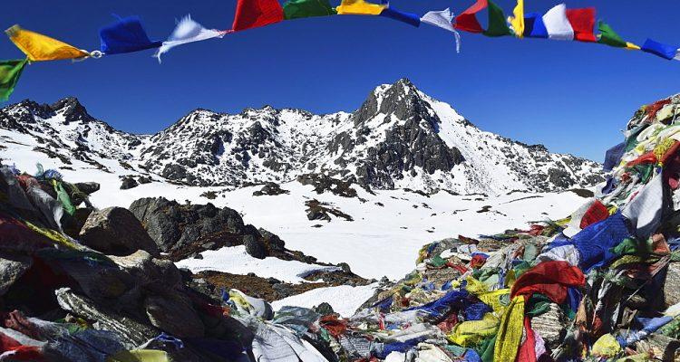 Lauribina Pass, Langtang National Park, Bagmati, Central Region (Madhyamanchal), Nepal, Himalayas, Asia