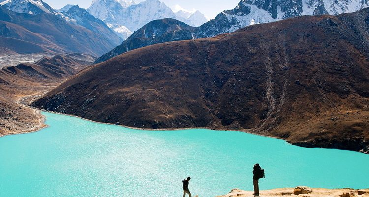 beautiful Gokyo Lake in the Everest Region of Nepal