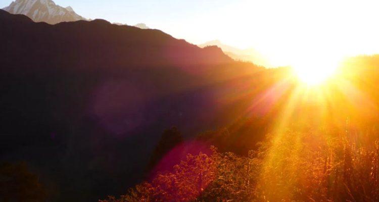 Sunrise-Poon Hill